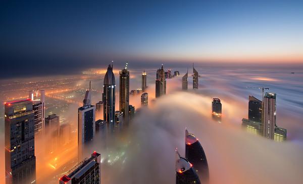 Апартаменты с видом на облака