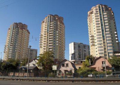 Проект жилых домов по ул.Борщаговской 182